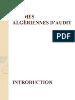Normes Algerienne d'Audit