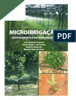 Microirrigação Gotejamento e Microaspersão