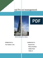 DUBAI- burj khalifa