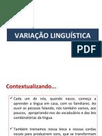 VARIAÇÃO LINGUÍSTICA_teoria