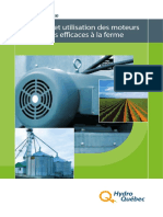 Guide pratique-Sélection et utilisation des moteurs électriques efficaces à la ferme