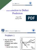 defect prediction
