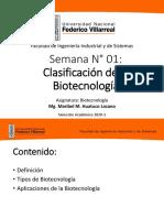 Clase 1-Clasificación de Biotecnologia