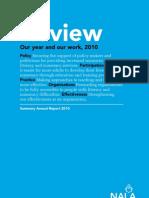 NALA Annual Report 2010