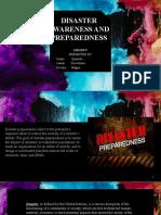DISASTER AWARENESS AND PREPAREDNESS group5