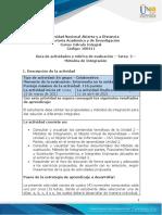 Guía de actividades y rúbrica de evaluación - Unidad 2 - Tarea 2 - Métodos de Integración