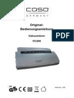 Caso Vakuumierer VC200