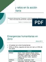 Patricia Garcia - datos y retos en la acción humanitaria