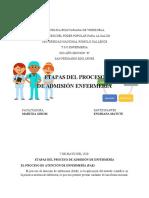 Informe Engriana Matute Proceso de Admisión de Enfermería
