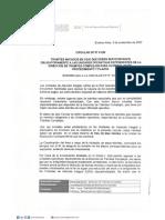 Circular Dp 41-20 Tramites Iniciados en Udais Que Deben Ser Derivados Obligatoriamente a Las Unidades Operativas Dependientes de La Direccion de Tramites Complejos Para Su Resolucion