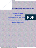 Instruments of Obstetrics and Gynecology