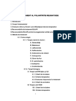 ghid de tratament al poliartritei reumatoide