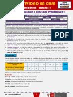 SEMANA 34 - TABLAS DE FRECUENCIA Y GRÁFICOS ESTADÍSTICOS II [3ro MATEMÁTICA]