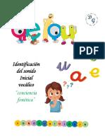 Sonido Inicial Vocalico PDF
