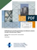 Suisse - Vérification bâtiments existants - Etape 3