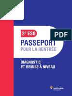 Passeport pour la rentrée 3º ESO parachute