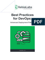 Best Practices for DevOps Advanced Deployment Patterns