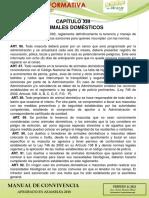 CIRCULAR INFORMATIVA MASCOTAS 06-2021