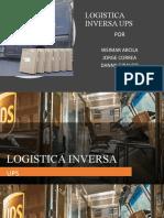 Logistica Inversa Ups