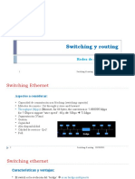 Switching-routing