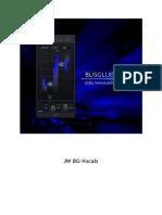 JW BG-Vocals Manual