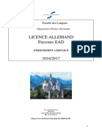 Guide Licence EAD 2016-2017
