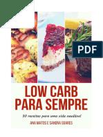 Low Carb Pra Sempre - Ana Matos e Sandra Soares