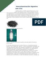Métodos de descontaminación digestiva
