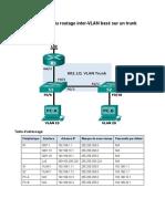 TP 4.2 Routage Inter VLAN Par Sous Interfaces
