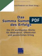 Das Summa Summarum Des Erfolgs