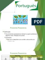 clase8_Pronomes possessivos