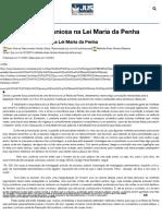 Denunciação Caluniosa na Lei Maria da Penha - Jus.com.br _ Jus Navigandi