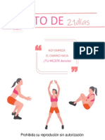 RETO 21d mujer  by Matefit