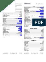 Be400A Normals Checklist