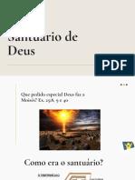 Estudo Biblico - O Santuário de D-s