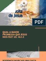 Estudo Bíblico - Volta de Jesus
