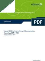 IGCSE2009_ICT_(4IT0)_Specifcation