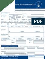 ApplicationforFinAssist2012