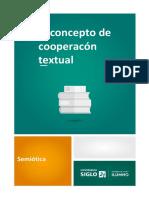 El Concepto de Cooperacón Textual