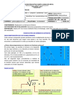 Guia 03-01-21 - Matematicas Sexto