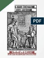 Liste108LivresSurLesSciencesOccultes-EditionNumérique-LibrairieAncienneJeanMarcDechaud_5