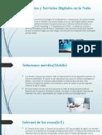 Productos y Servicios Digitales en la Nube