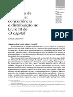 Grespan - concorrência e distribuição