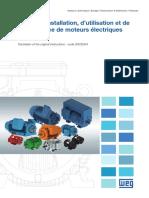 Manuel d'Installation, d'Utilisation Et de %0D Maintenance de Moteurs Électriques