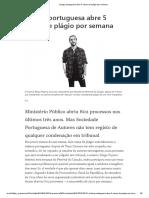 Justiça portuguesa abre 5 casos de plágio por semana