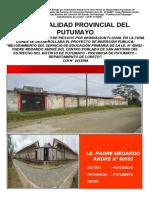 4. EVAR - MEJORAMIENTO DEL SERVICIO DE EDUCACIÓN PRIMARIA DE LA I.E. N° 60092 - PADRE MEDARDO ANDRE DEL CENTRO POBLADO DE SAN ANTONIO DEL ESTRECHO DEL DISTRITO DE PUTUMAYO - ORIGINAL COMPLETO (Reparado)
