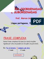 oracoes-coordenadas-e-subordinadas-9ano