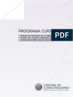ok,ok PROGRAMA Nch 170 -2016 , e INSPECCION DE HORMIGONES EN OBRA, SUELOS y ASFALTO