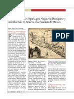 La ocupación de España por Napoleón Bonaparte