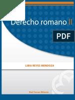 Derecho Romano II - Libia Reyes Mendoza